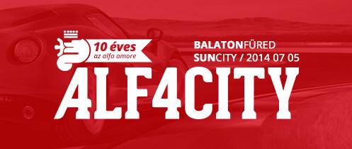 AlfaCity: Alfa. Balaton. Amore.