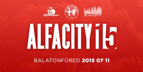 Most szombaton: AlfaCity 2015