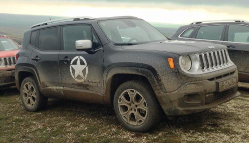 Jeep-h�rek: meg�rkezett a Renegade