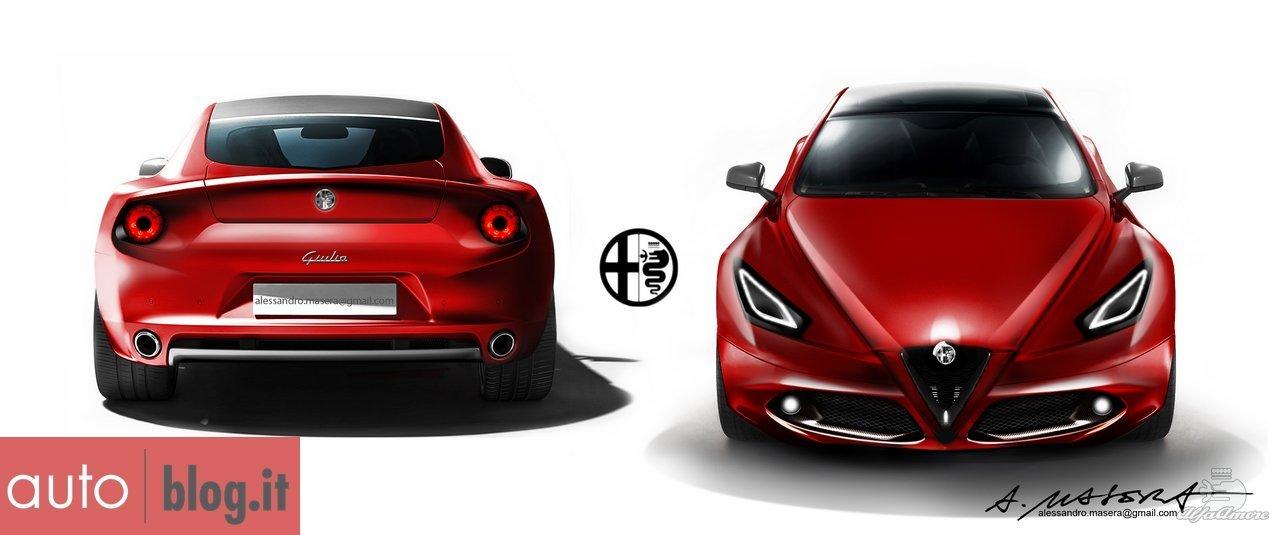 New Cgi Of Giulia Alfa Amore Online Alfa Romeo Community