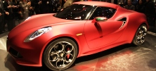 4C the first Alfa in USA, Marchionne says