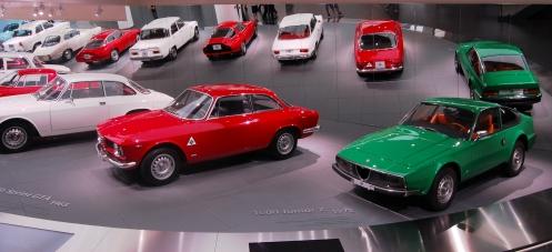 �jra l�togathat� az aresei Alfa Romeo m�zeum