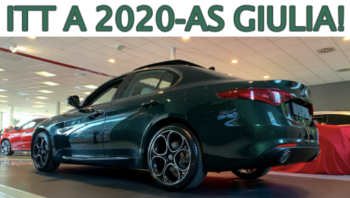 Itt a 2020-as Giulia!