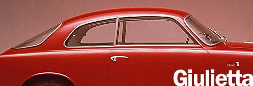 Alfa Romeo Giulietta Sprint / Spider / Berlina