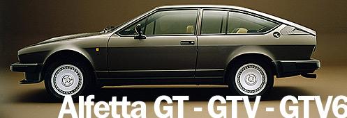 Alfa Romeo Alfetta GT / GTV / GTV6