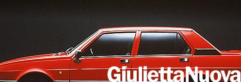 Alfa Romeo Giulietta Nuova
